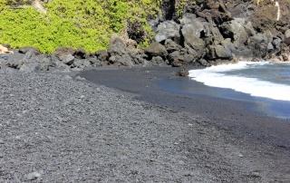 Waianapanapa Black Sand Beach Maui