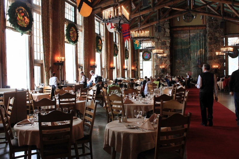 Yosemite Restaurants Dining Room