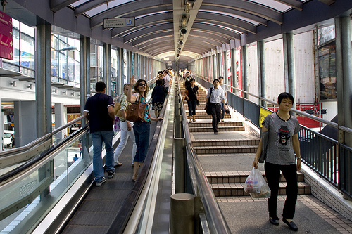 Things to do in Hong Kong: Ride the Mid Level Escalator