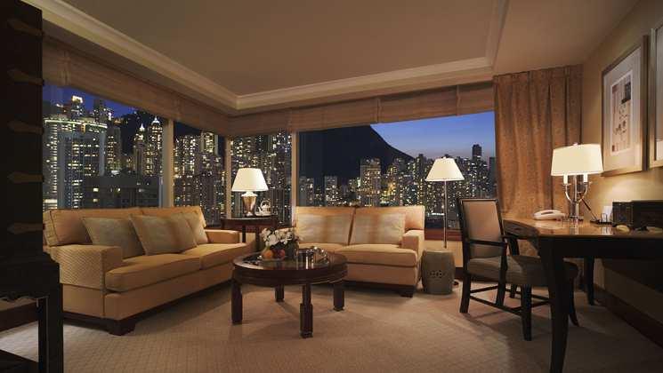 HOng Kong Conrad Hotel Suite