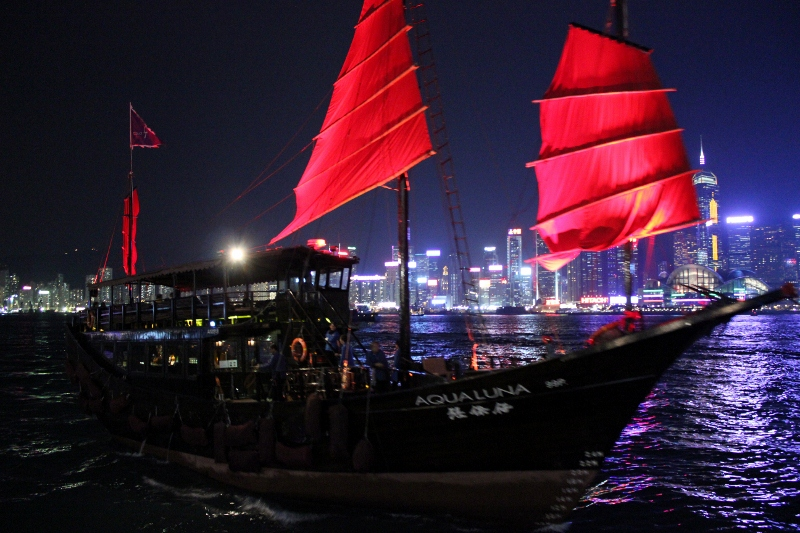 Life List: 100 Amazing Things To Do Before You Die: Take a Ride in a Traditional Junk Boat, Hong Kong
