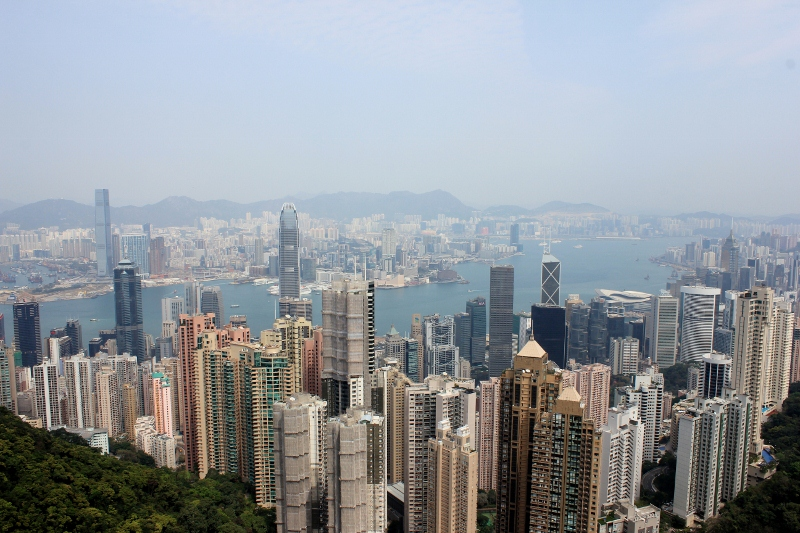 Hong Kong's The Peak View