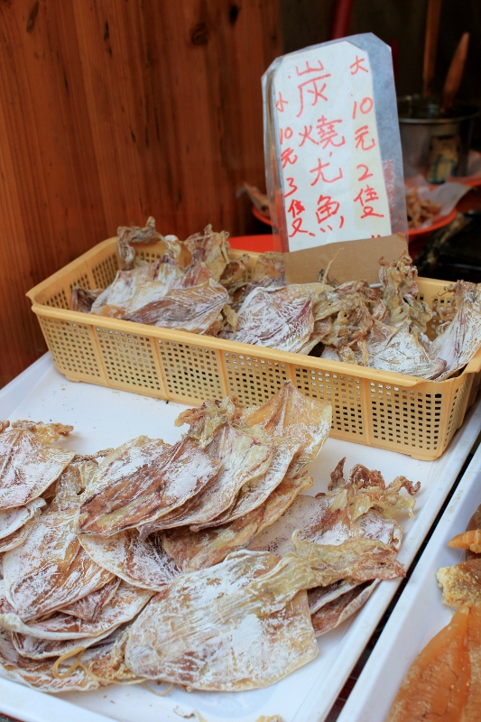 Hong Kong Tai O Street Food