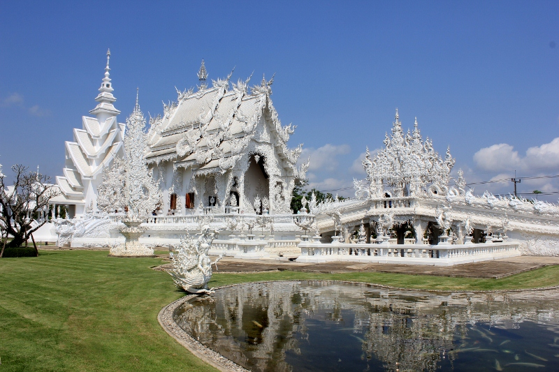 Image result for white temple chiang rai