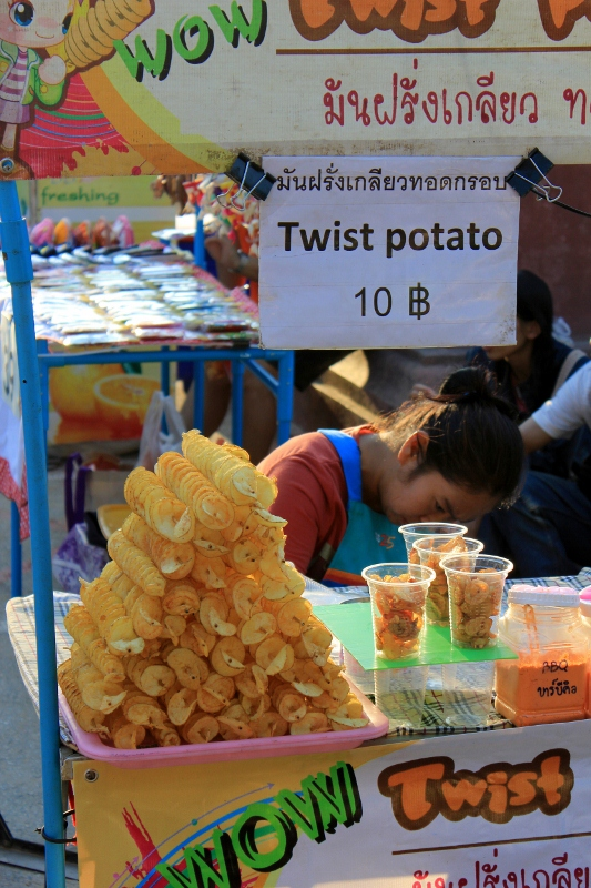 Street Food at Chiang Mai Sunday Market