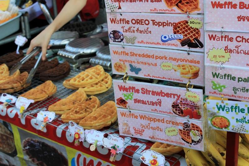 Street Food at Chiang Mai Sunday Market