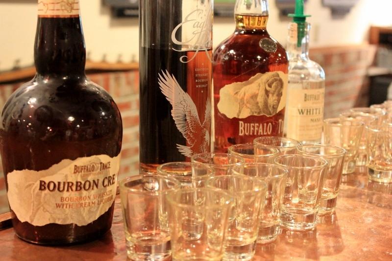 bourbon tasting at buffalo trace