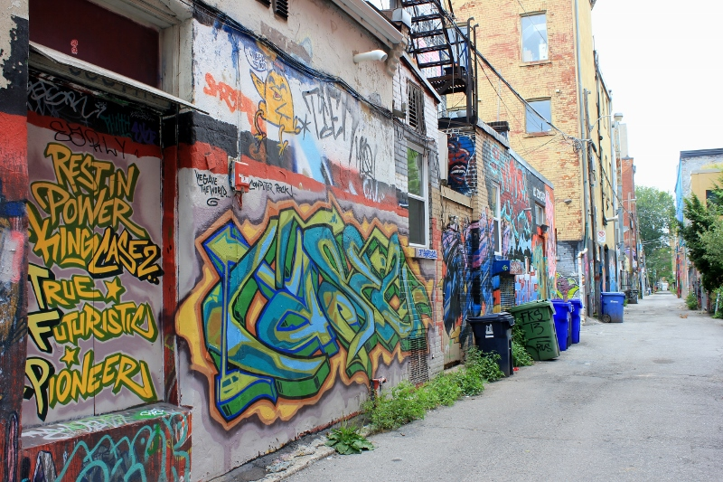 Toronto Graffiti Alley