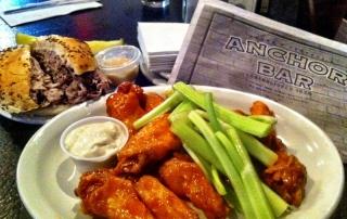 Buffalo Wings at Anchor Bar