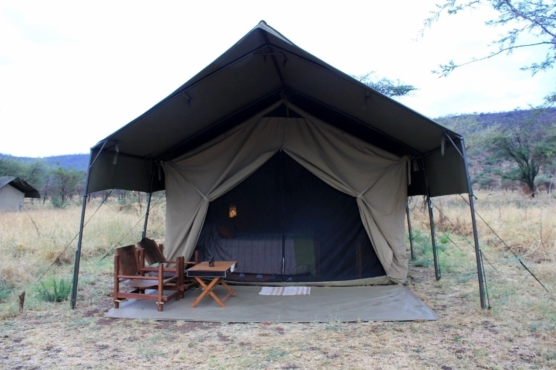 Image result for sleep camp in serengeti