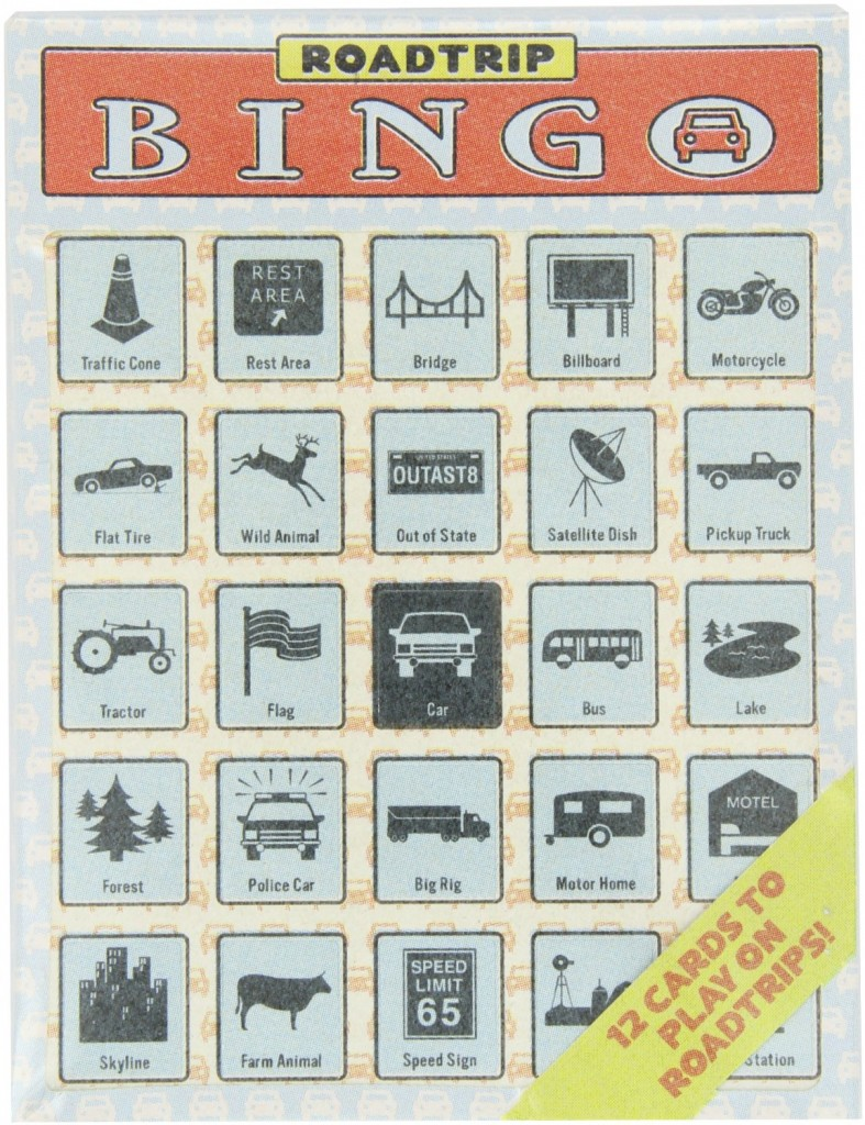 Road Trip Bingo Travel