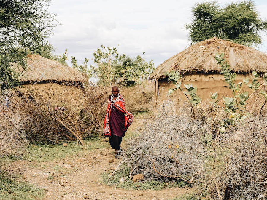 Maasai Homes - Adobe Huts of the People