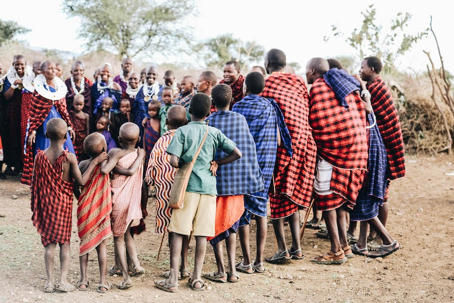 Culture des vêtements Masaï
