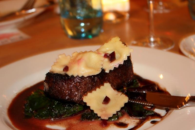 Steak at Zazu in Sebastopol