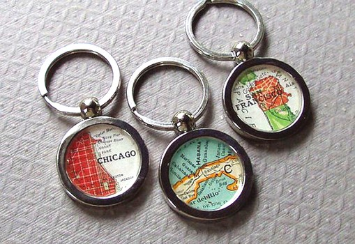 map key chain