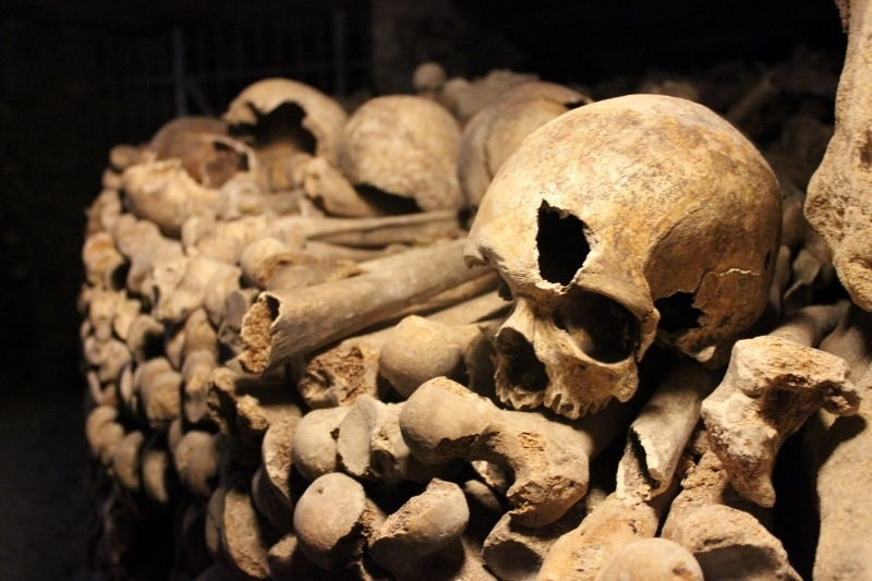 Catacombs in Paris
