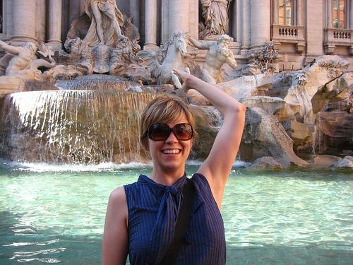 Trevi Fountain Italy