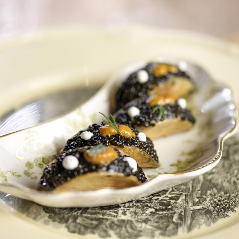 Caviar Taco Rose. Rabbit. Lie. Las Vegas
