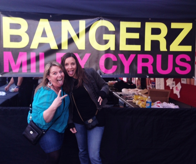 Annette White at Miley Cyrus in Oakland, California