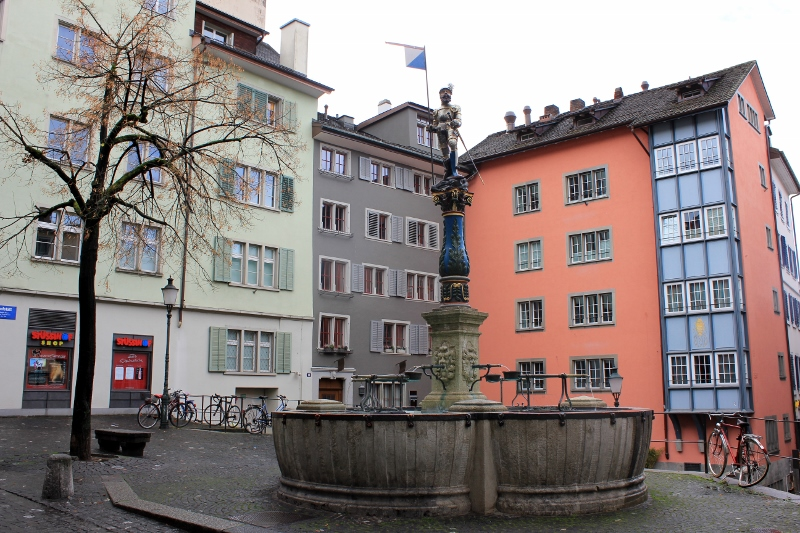 Zurich Water Fountains