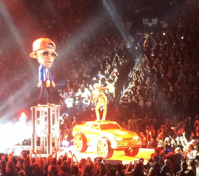 Miley Cyrus Concert in Oakland, California