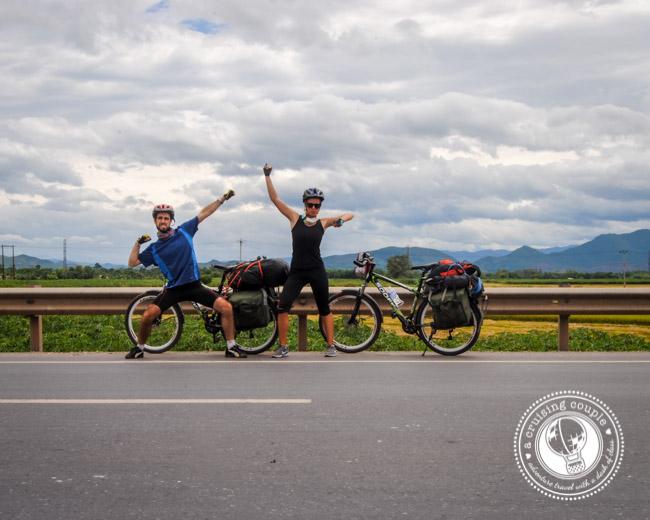 Cruising Couple Bicycle Ride