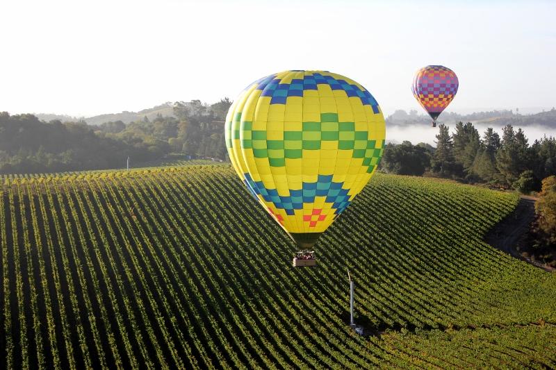 Hot Air Balloon Ride over Sonoma County
