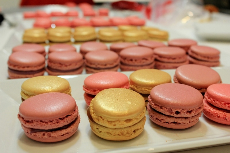 Making Macarons in Paris
