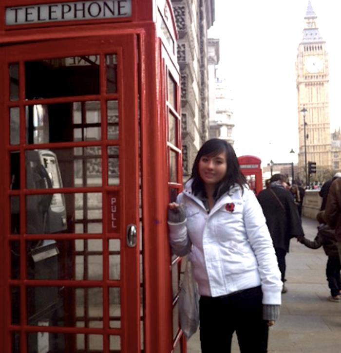 Michelle Red Telephone Booth