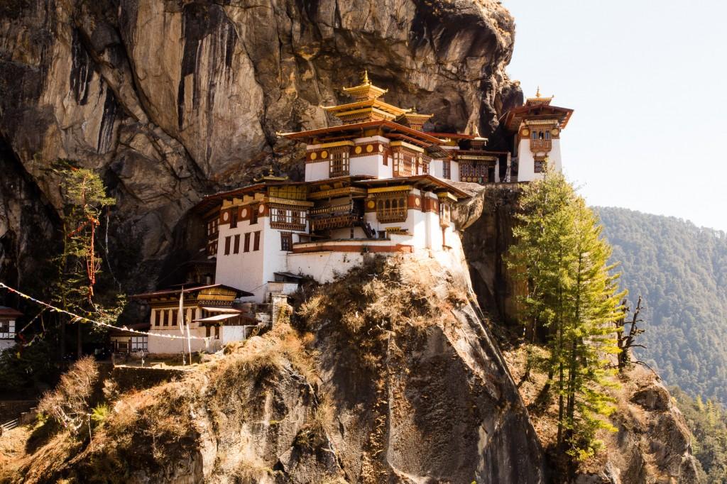 Tigers Nest Temple in Paro Bhutan