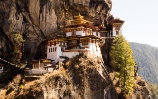 Tigers Nest Temple in Paro Bhutan