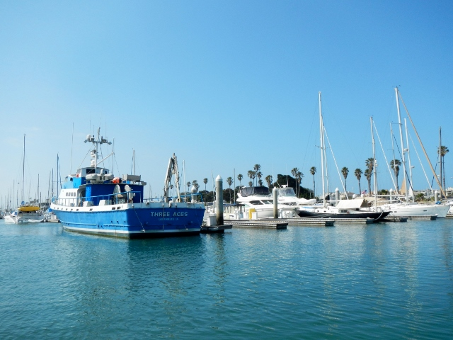 Oxnard Channel Islands in California