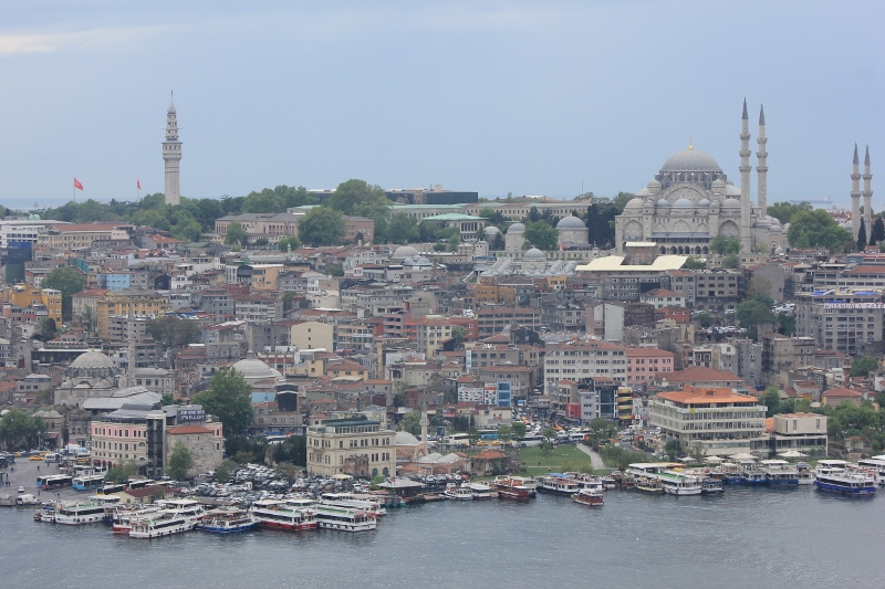 Galata Tower View Istanbul