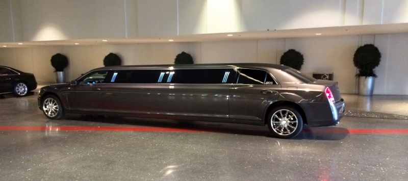 Gray Limo in Las Vegas