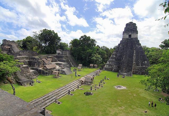 Temple, Tikal
