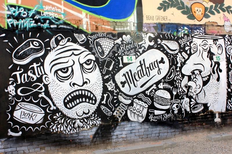 Freak Alley Street Art in Boise, Idaho