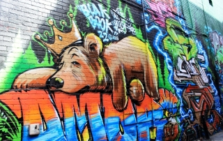 Freak Alley Street Art in Boise, Idaho