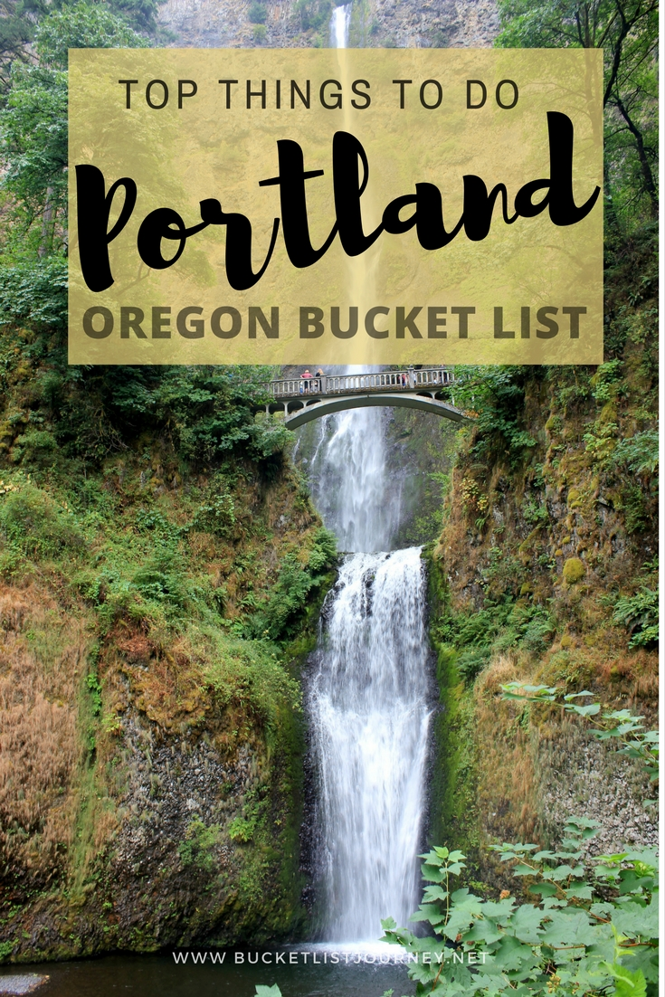 Portland Bucket List: Fun Things to See, Do & Eat in Oregon's Weirdest City | Activities, Attractions and Restaurants