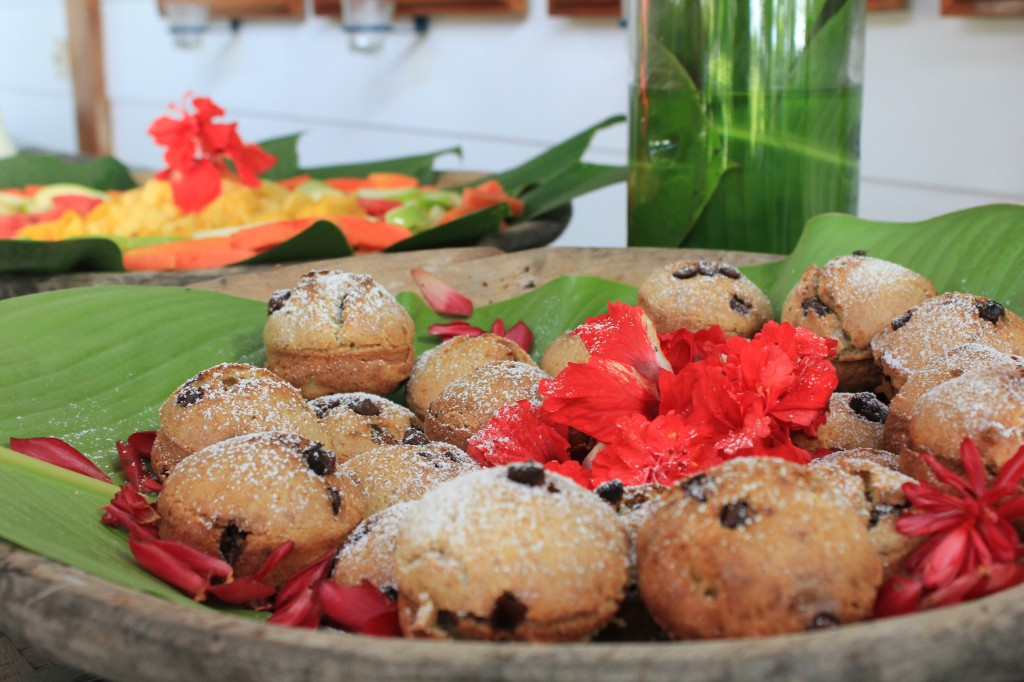 Muffins at Blue Osa Costa Rica