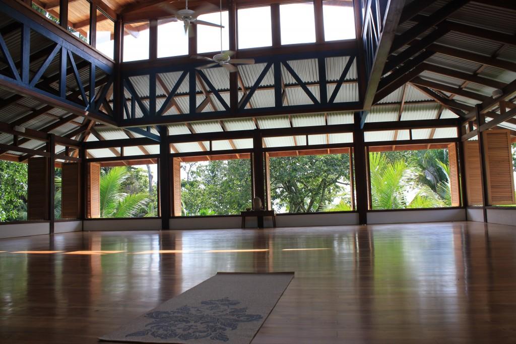 Blue Osa Yoga Room in Costa Rica