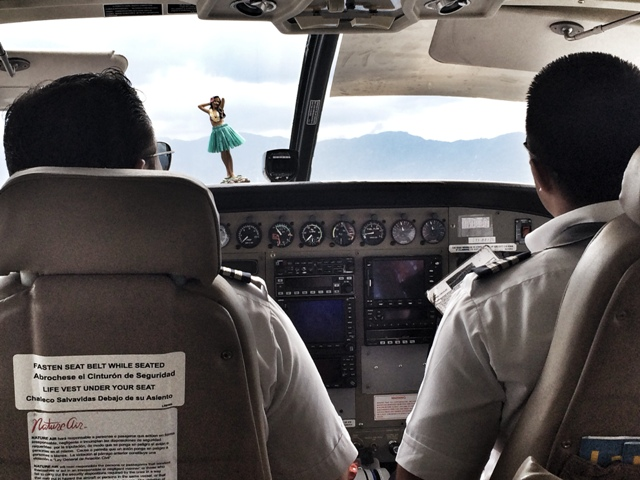 NatureAir Flight to Costa Rica