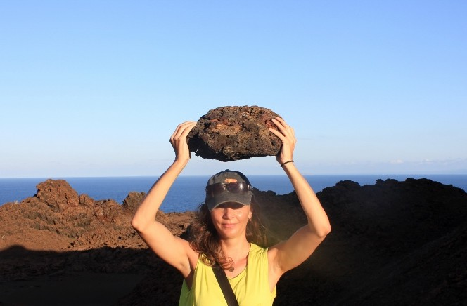 Bartolome Island Lava Rock in the Galpagos