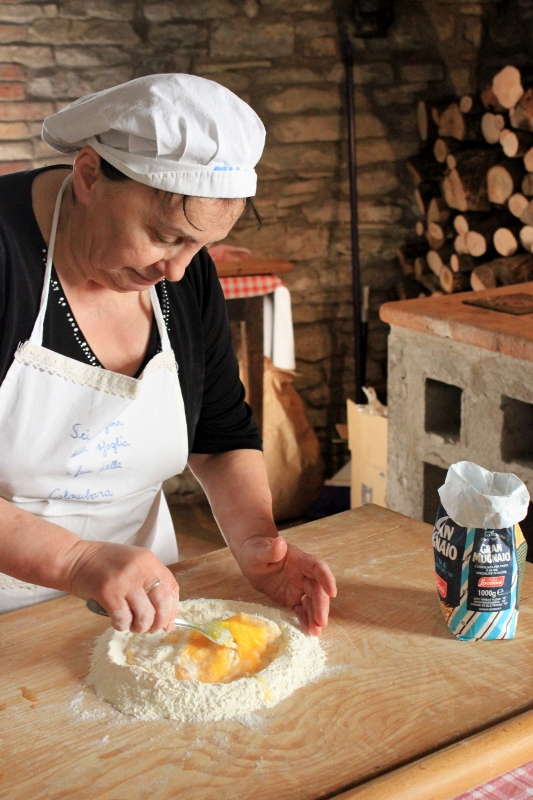 Taking a Pasta Class in Le Marche, Northern Italy