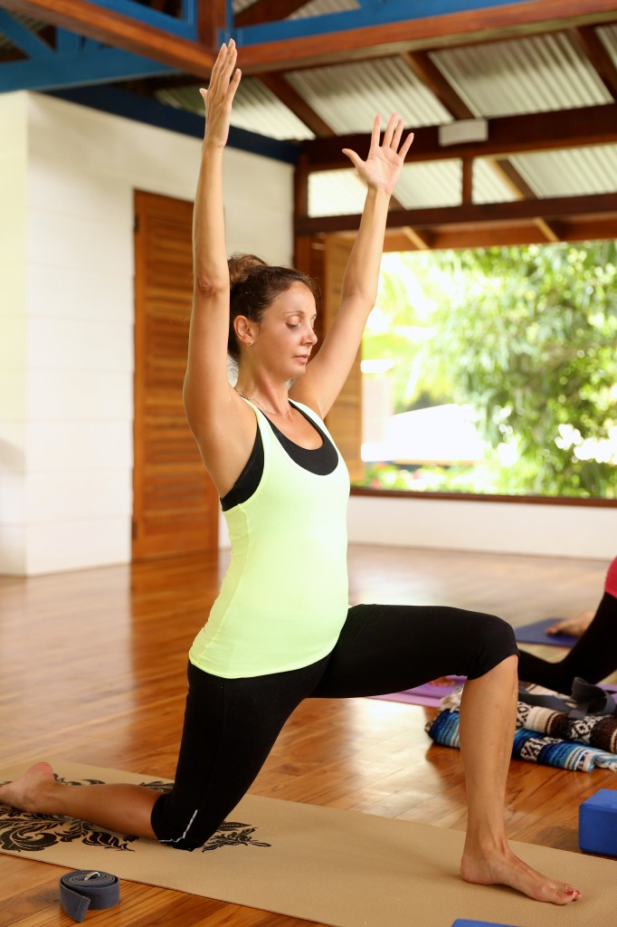 Yoga at Blue Osa Yoga Retreat in Osa Peninsula, Costa Rica - Annette White