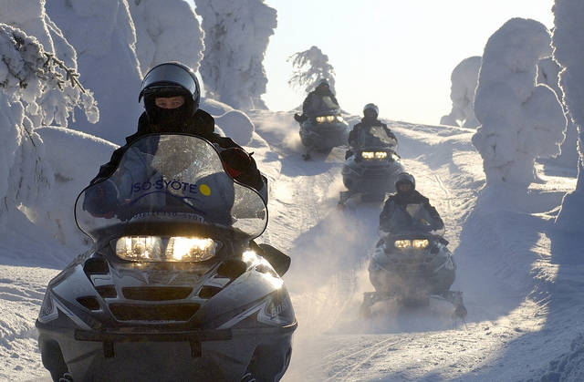Winter Bucket List: Snowmobile