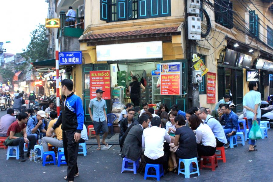 Eat Worm Cakes (& Other Vietnamese Street Food) in Hanoi