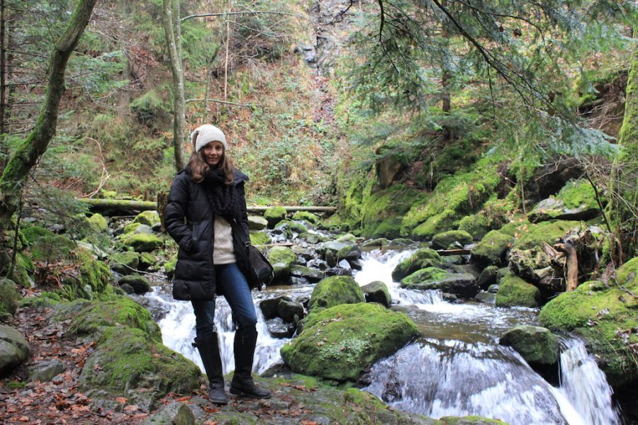 Annette White hiking the Black Forest in Germany