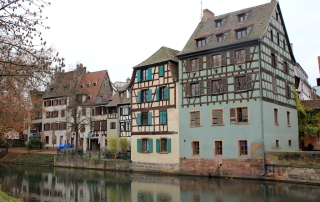 Strasbourg, France on the Rhine River Cruise