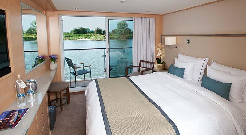 Viking River Cruise Veranda Stateroom