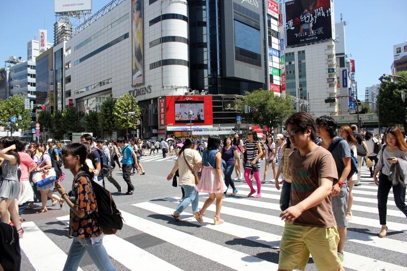Tokyo Things to Do: Shibuya Crossing in Tokyo, Japan